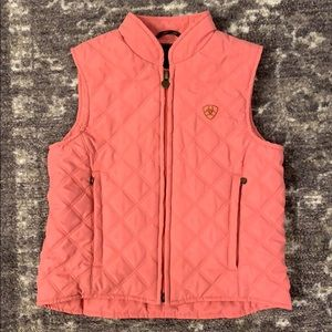 EUC Girls Quilted Riding Vest